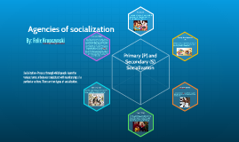 Agencies of scoialization