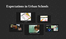 Expectations in Urban Schools