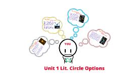 Unit 1 Lit. Circle choices