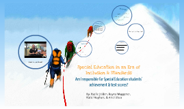 Special Education in an Era of Inclusion & Standards