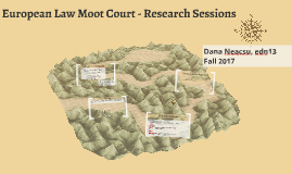 European Law Moot Court Research Session 2016