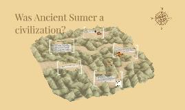 Was Sumer a civilization