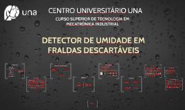 DETECTOR DE UMIDADE EM FRALDAS DESCARTÁVEIS