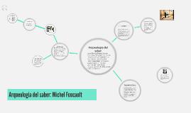 Arqueologia del saber Michael Foucault
