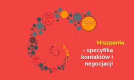 - specyfika kontraktów i negocjacji