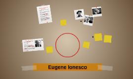 Eugene Iunesco