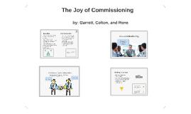 The Joy of Commissioning