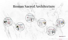 Roman Sacred Architecture
