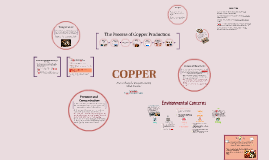 Industrial Chemical Process - Copper Extraction