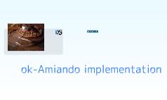 ok-Amiando implementation