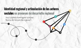 Teorias del desarrllo regional