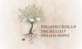 PSICOLINGUÍSTICA II