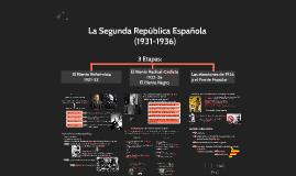 Copy of La Segunda República