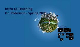 Intro to Teaching - Classes 4, 5, 6