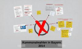 Kommunalwahlen in Bayern 2014