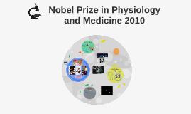 Nobel Prize Medicine 2010