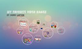 My Favorite Video Games