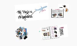 Original Mi Viaje a Argentina
