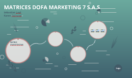 MATRICES DOFA MARKETING 7 S.A.S