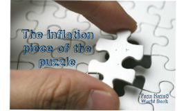 Inflation piece of the puzzle