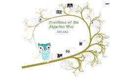 Practices Of the Algerian War