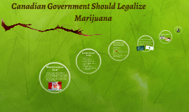 Canadian Government should legalize