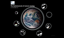 The fundamentals of remote sensing: an introduction