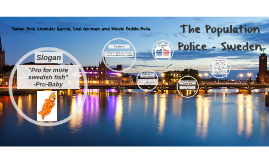Copy of the population police - sweden