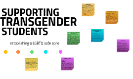 establishing a safe zone for the LGBTQ students