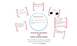 Copy of Point of View Web Quest