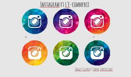 Instagram et l'e-commerce