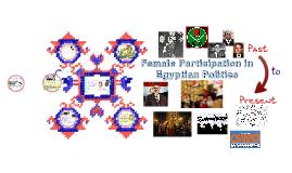 Female Participation in Egyptian Politics