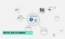 PROYECTOS  FAO 2015