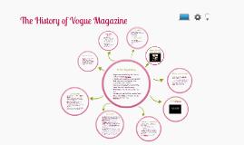 Copy of Copy of History of Vogue Magazine