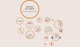 Copy of Didactique inter-langues