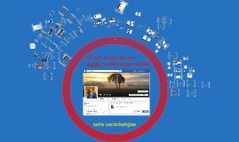 Workshop gebruik van social media. Gehouden op Communicatiecongres 2016 Hanzehogeschool 24-11-2016