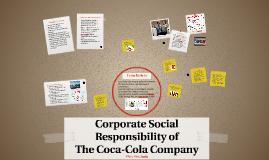 coke corporate social responsibility