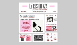 Copy of Tesina Billeri - Resilienza