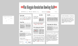 The Kingpin Revolution Bowling Ball