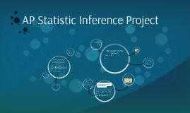 AP Statistic Inference Project