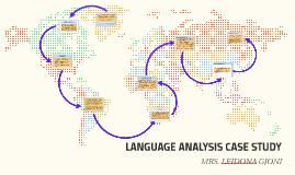 LANGUAGE ANALYSIS CASE STUDY