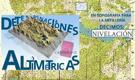 CAPITULO 03 DETERMINACIONES ALTIMETRICAS 291500ENE14