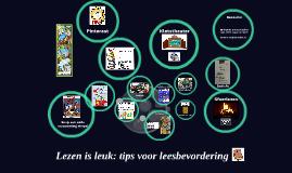 Lezen is leuk: tips voor leesbevordering