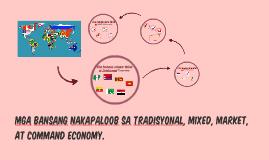 Copy of Mga bansang nakapaloob sa tradisyon, mixed,market, at command economy