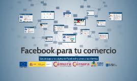 Facebook para tu comercio