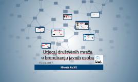 Utjecaj društvenih mreža u stvaranju/jačanju branda
