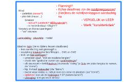 Notities bij introductiesessie beton/staal (Projectwerk Bouwkunde Ba3 - Pillaert)