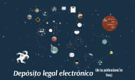 Depósito legal electrónico