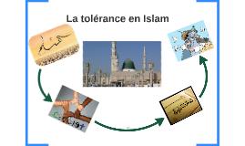 /a tolérance en Islam