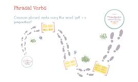 1StepEnglish - Phrasal Verbs - Get